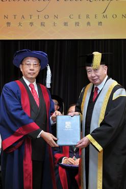 Honorary University Fellowships Presentation Ceremony 2015