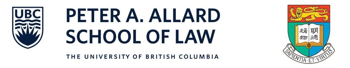 Peter A Allard School of law